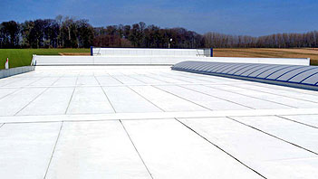 Hypertectum coating for both horizontal and vertical planes.