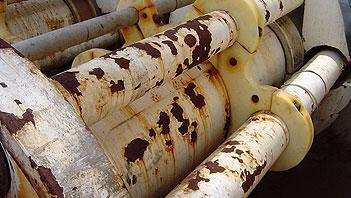 Rust grip polyurethane coating